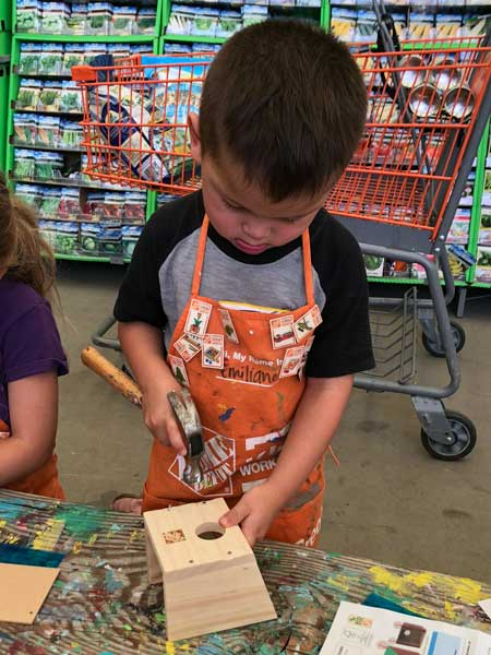 Kids Workshop And Produce At Home Depot This Saturday The