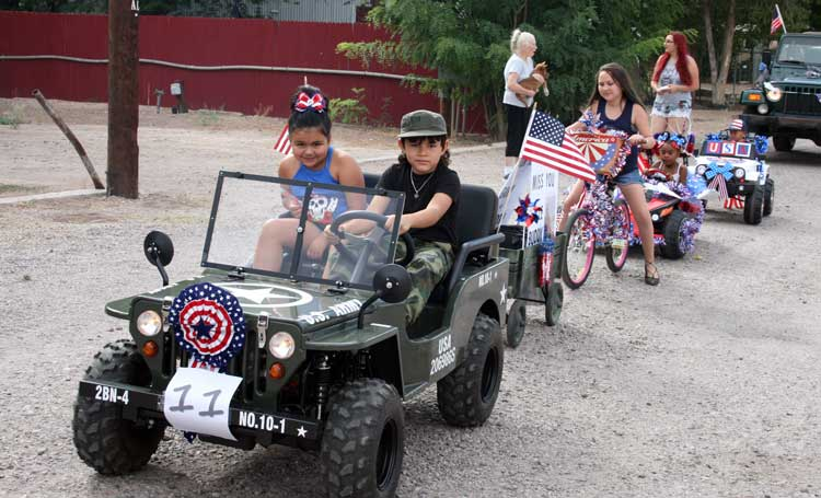 Duncan July 4 Parade Is Hallmark Of True Patriotism The Gila Herald