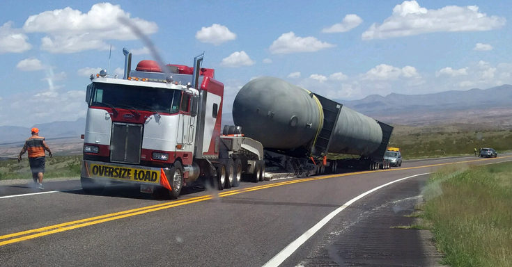 semi breakdown reroutes traffic on u s highway 70 the gila herald