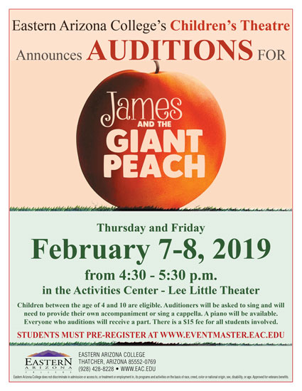 james and the giant peach eastern michigan university